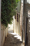 Streets of Granada. Detail from Ancient Granada hills street Royalty Free Stock Image