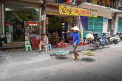 Streets of Hanoi Royalty Free Stock Images