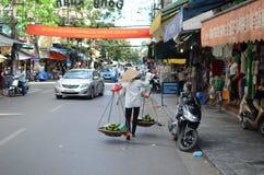 Streets of Hanoi Royalty Free Stock Photos