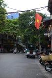 Streets of Hanoi Stock Photo
