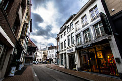 Streets of Hasselt, Belgium Stock Image