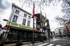 Streets of Hasselt, Belgium Stock Photo