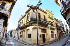 Streets of Havana Royalty Free Stock Photo