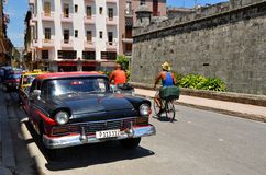 Streets of Havana Stock Photos