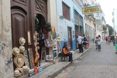 The streets of Havana Stock Image