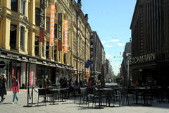 Streets of Helsinki Royalty Free Stock Photography