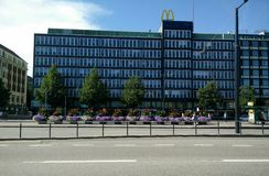 Streets of Helsinki Stock Photography