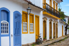 Streets of the historical town Paraty Brazil Royalty Free Stock Photography