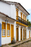 Streets of the historical town Paraty Brazil Royalty Free Stock Photos