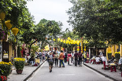 Streets of Hoi An Stock Photography