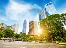 The streets of Hong Kong Stock Image