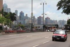 Streets of Hong Kong Royalty Free Stock Image