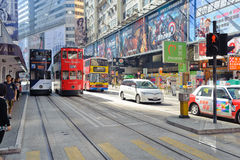 Streets of Hong Kong Royalty Free Stock Image