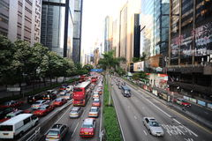 Streets of Hong Kong Stock Photos