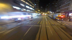 Streets of Hong Kong stock video footage