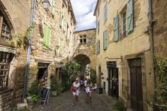 Cordes-sur-Ciel, France Royalty Free Stock Photography