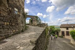 Cordes-sur-Ciel, France Royalty Free Stock Photos