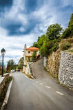 Streets and houses in Stemnitsa village. Royalty Free Stock Photography
