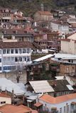 Streets and houses in Tbilisi the day. Old town, city royalty free stock image