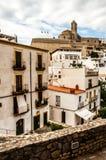 Streets of Ibiza Stock Photography