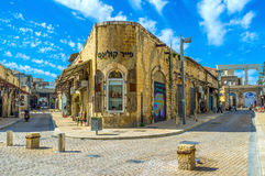 The streets of Jaffa Royalty Free Stock Photos