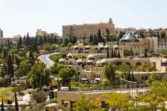 The streets of Jerusalem. Stock Photo