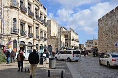 Streets of Jerusalem Royalty Free Stock Image