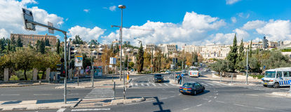 Streets of Jerusalem Royalty Free Stock Images