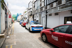 On the streets Kampong Glam in Singapore Stock Photography
