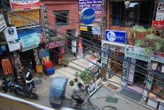Streets of Kathmandu Royalty Free Stock Image
