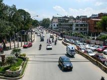 The Streets of Kathmandu, Nepal Stock Images