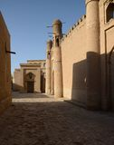 Streets of Khiva Royalty Free Stock Photography
