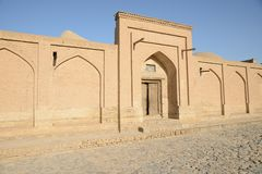 Streets of Khiva Stock Photo