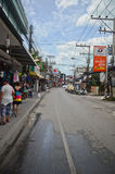 Streets of Koh Samui Royalty Free Stock Photo