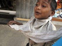 Streets of Kolkata, Beggars Royalty Free Stock Photos
