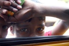 Streets of Kolkata, Beggars Stock Images