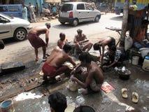 Streets of Kolkata Stock Photography