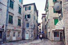 Streets of Kotor Royalty Free Stock Photo
