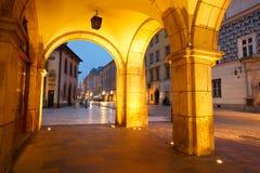 Streets of Krakow. Stock Photo