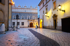 Streets of Krakow. Royalty Free Stock Photography