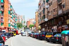 Streets in La Salut district Stock Photo