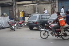 Streets of Lahore Pakistan Stock Photography