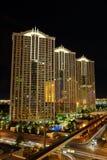 Streets of Las Vegas by night Stock Photo