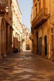 Streets or Lecce Stock Images