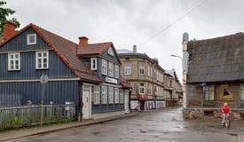 Streets of Liepaja, Latvia Royalty Free Stock Photography