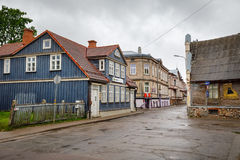 Streets of Liepaja, Latvia Stock Image