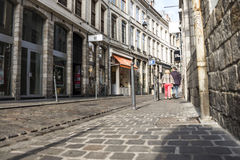 Streets of Lille Stock Photography