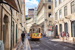 Streets of Lisbon Stock Images