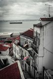 Streets of Lisbon. Lisboa. Portugal. Tejo royalty free stock images
