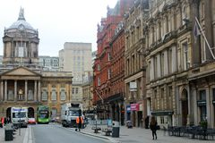 Streets of Liverpool, in the UK Stock Image